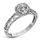 Zeghani ZR826 ENGAGEMENT RING