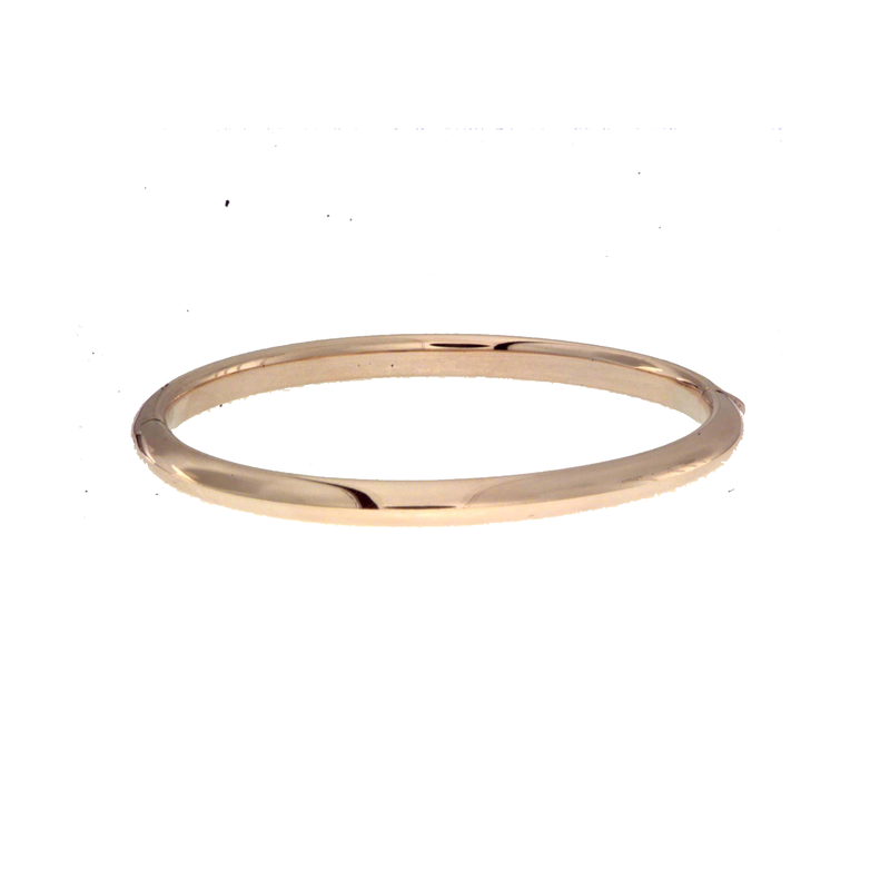 Roberto Coin 18Kt Gold Knifed Edge Bangle