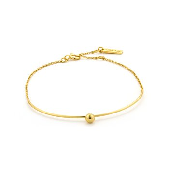 Orbit Solid Bar Bracelet