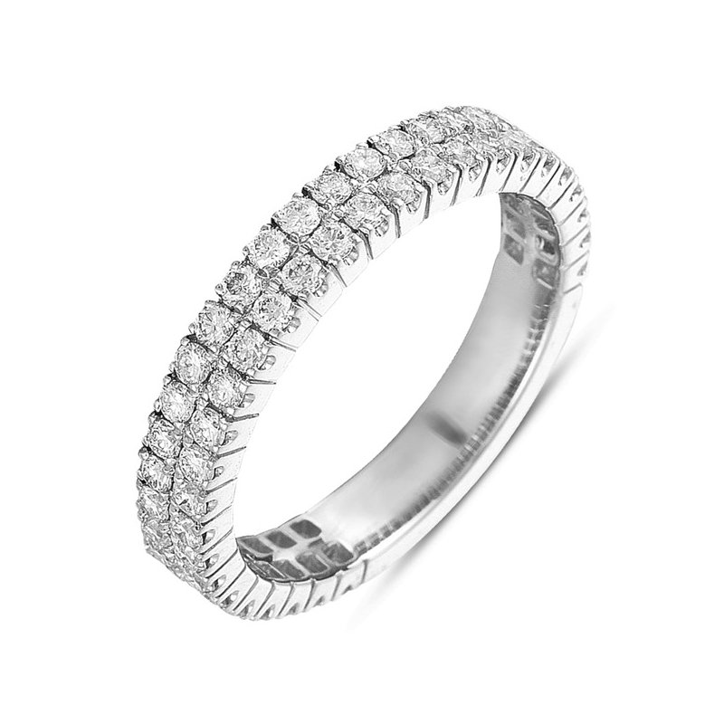 S. Kashi & Sons Bridal Diamond Band Two Row