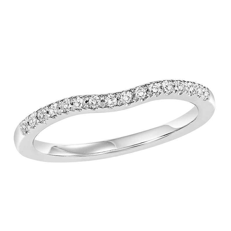 Bridal Bells 14K Diamond Matching Band 1/7 ctw