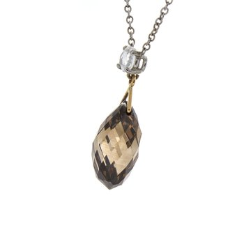 BROWN BRIOLETTE PENDANT