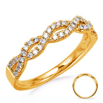 Yellow Gold Diamond Matching Band