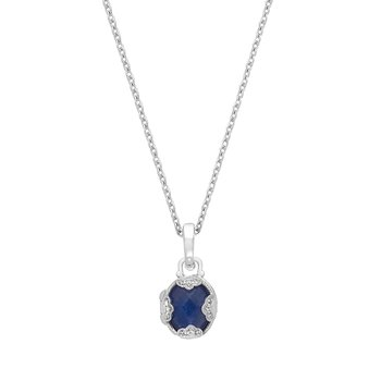 Gia Petite Locket Necklace