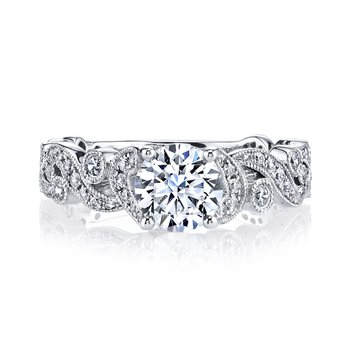 MARS 25988 Diamond Engagement Ring 0.40 Ctw.