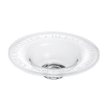 "Engraved ""Bless This Home"" Celebration Bowl"