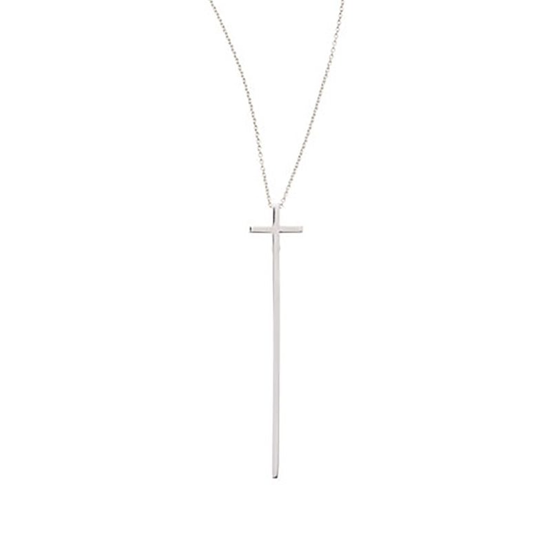 Roberto Coin 18KT GOLD ELONGATED CROSS PENDANT