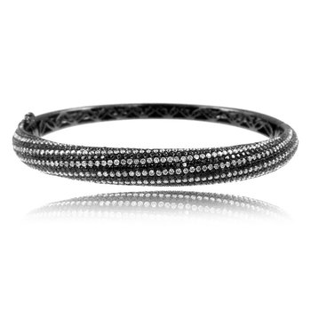 Gothica Striped Bangle