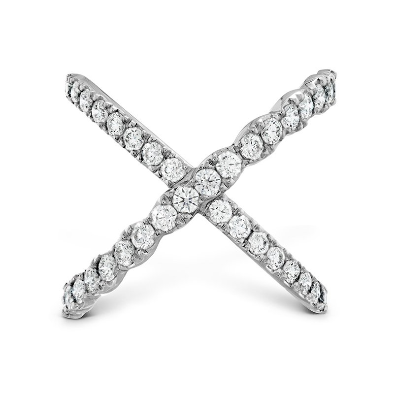 Hearts on Fire 1 ctw. Lorelei Diamond Criss Cross Ring