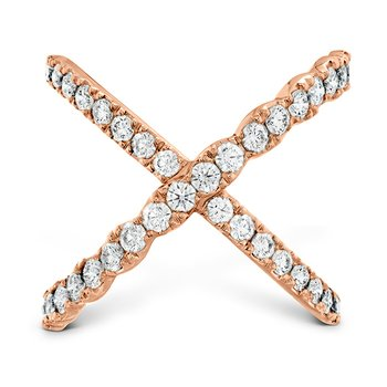 1 ctw. Lorelei Diamond Criss Cross Ring