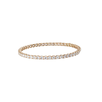 #25637 Of 18Kt Gold Diamond Bracelet
