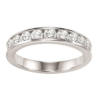 14K Diamond Channnel Set Band 1/3 ctw