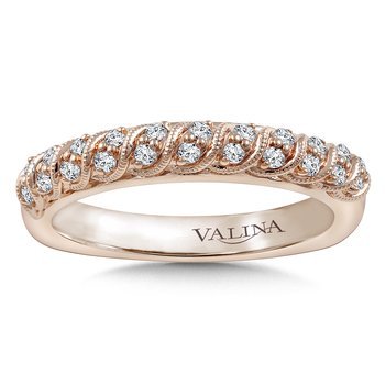 Stackable Wedding Band in 14K Rose Gold (.20 ct. tw.)