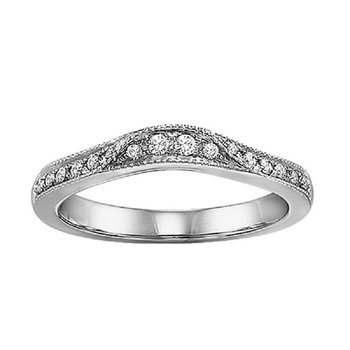 14K Diamond Destiny Band 1/4 ctw