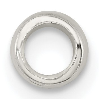 Sterling Silver Large Polished Spacer Enhancer