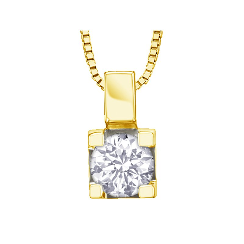 Canadian Forever Jewellery Canadian Diamond Solitaire Pendant