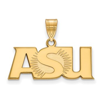 Gold-Plated Sterling Silver Arizona State University NCAA Pendant