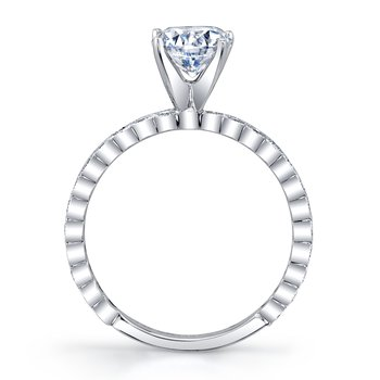 MARS 27219 Diamond Engagement Ring, 0.34 Ctw.