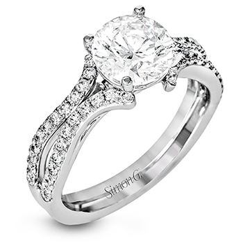 DR351 ENGAGEMENT RING