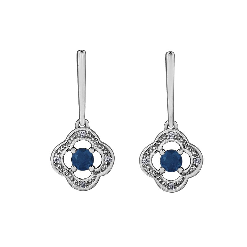 Timeless Beauty Sapphire Earrings