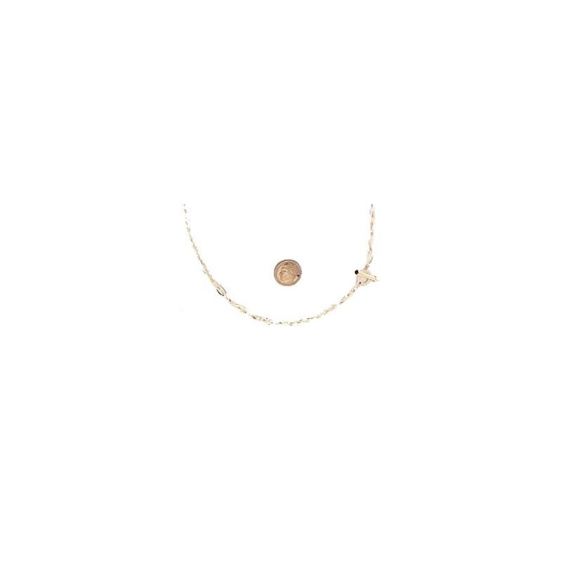 Roberto Coin  #26556 Of 18Kt Gold Petite Link Necklace