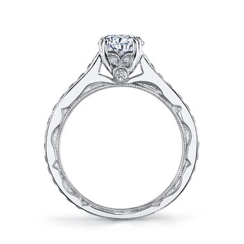 MARS 26009 Diamond Engagement Ring 0.51 Ctw.