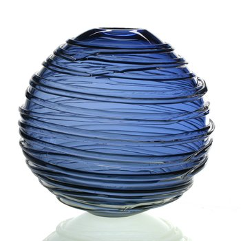 Sophie Vase Steel Blue 9""