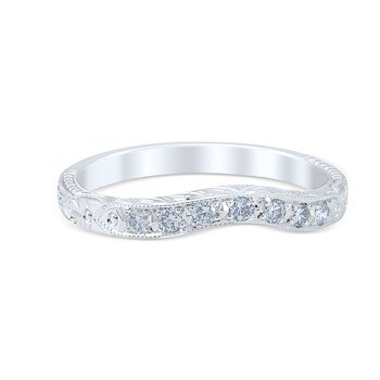 Venetian Crown Wedding Ring