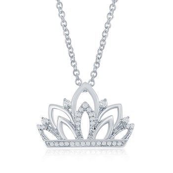 The Gloriana Crown Necklace
