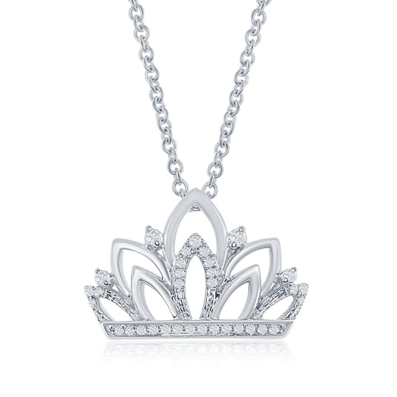 Veer The Gloriana Crown Necklace