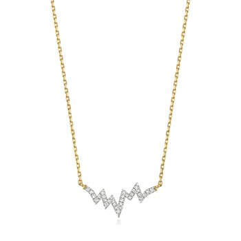 Diamond Necklace Heartbeat