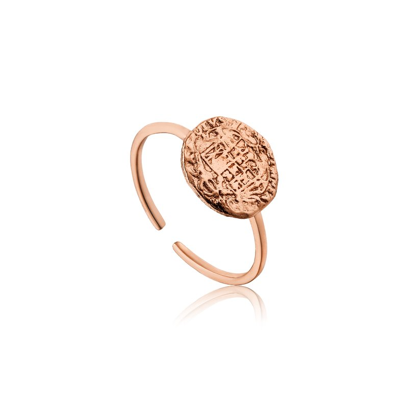Ania Haie Emblem Adjustable Ring