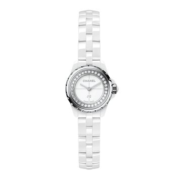 J12 XS White with Diamonds