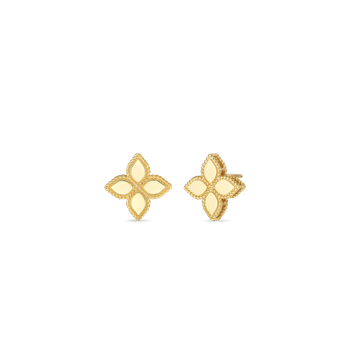 18KT GOLD MEDIUM STUD EARRING