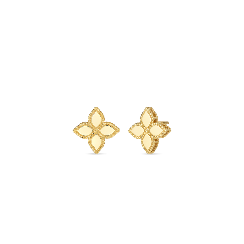 Roberto Coin 18Kt Gold Medium Stud Earring