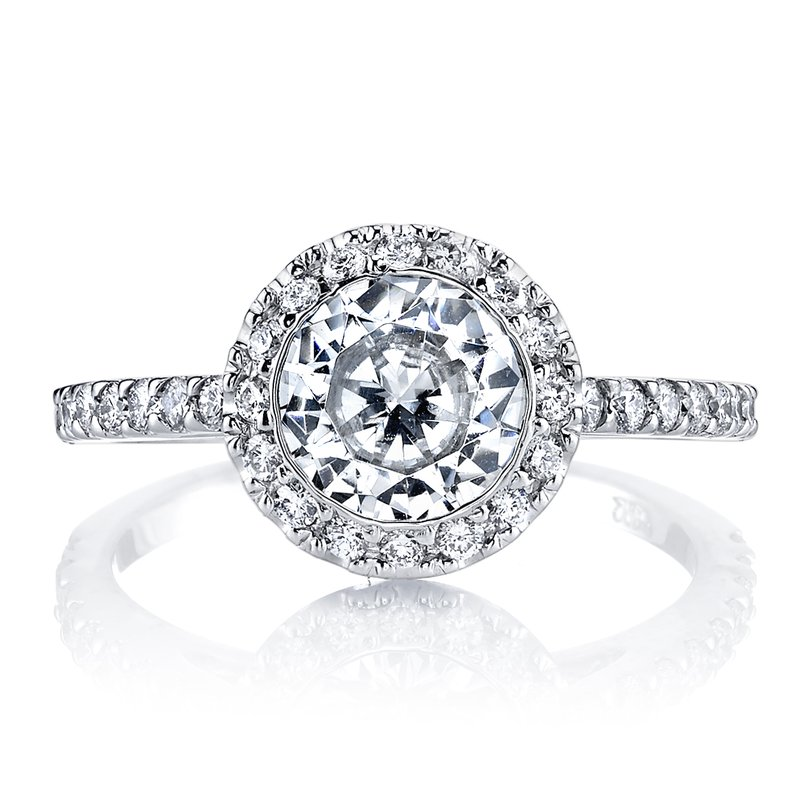 MARS Jewelry MARS 13813 Diamond Engagement Ring 0.34 Ctw.
