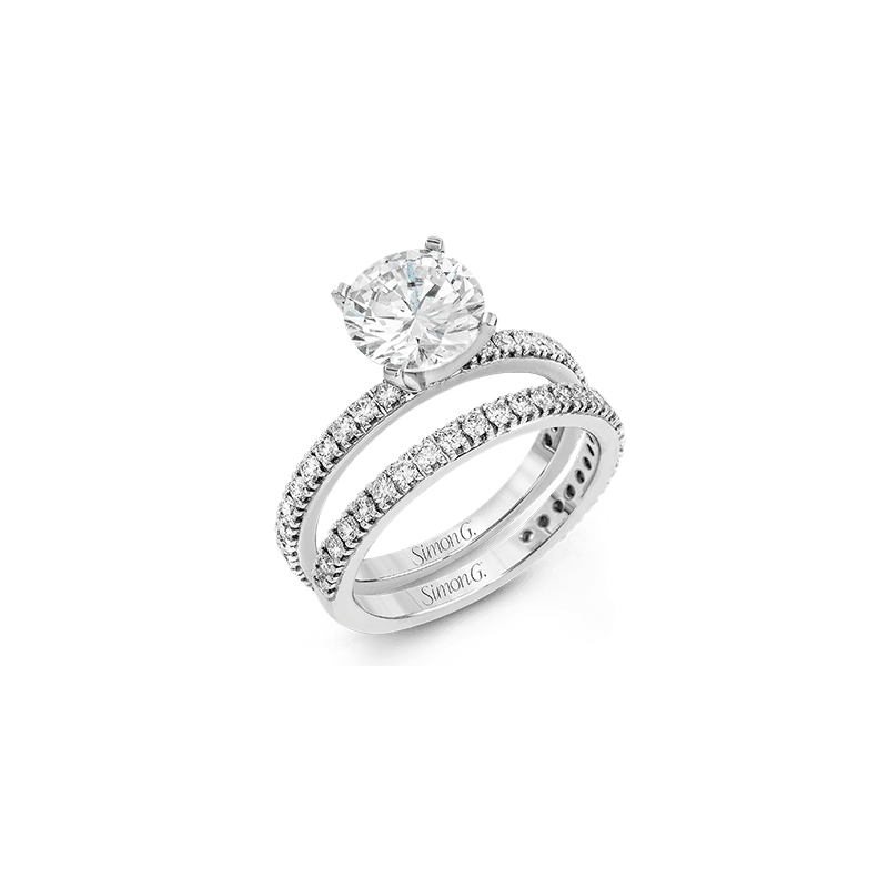 Simon G PR148 WEDDING SET