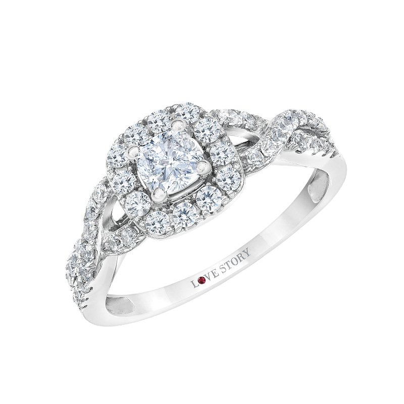 "Love Story Diamonds ""Hearkening"" - Promise Collection by Love Story"