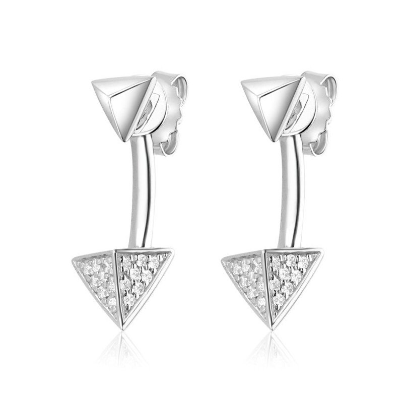 LARUS Jewelry Pyramid Earrings