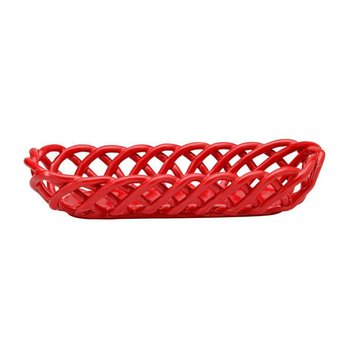 Baguette Basket, Red