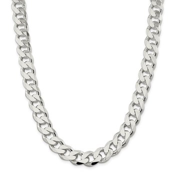 Sterling Silver 13mm Curb Chain