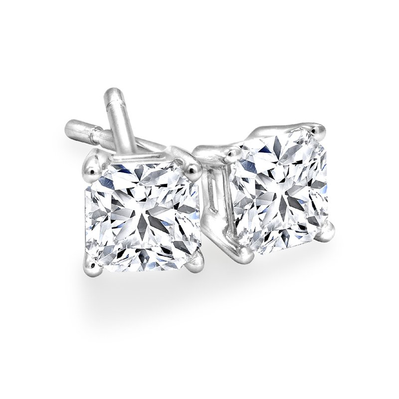 Canadian Rocks Diamond Stud Earrings