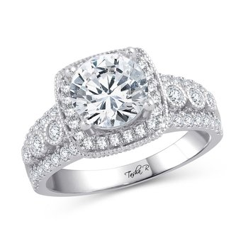 14K 0.83Ct Diam Semi Mount