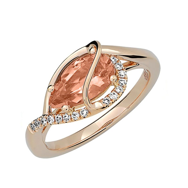 Chatham Champagne Sapphire Ring-CR12411RCS