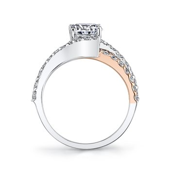 MARS A14R Diamond Engagement Ring 0.66 ct tw