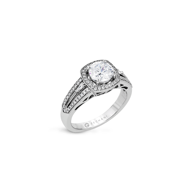 Zeghani ZR1205 ENGAGEMENT RING