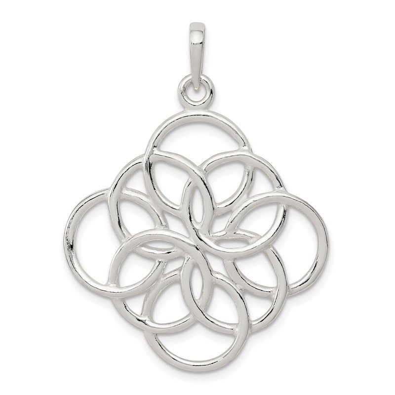 Quality Gold Sterling Silver Pendant