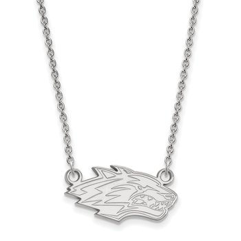 Sterling Silver University of New Mexico NCAA Necklace