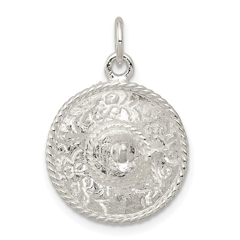 Lester Martin Online Collection Sterling Silver Sombrero Charm