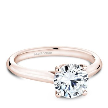 Noam Carver Modern Engagement Ring B143-01RA